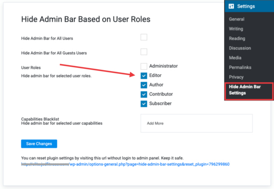 4 ways to disable wordpress admin bar