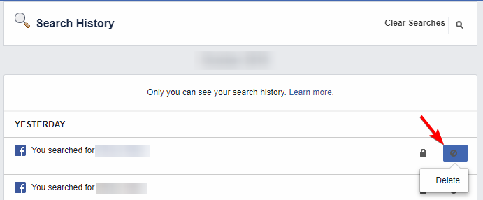 How to Delete Your Search History on Facebook