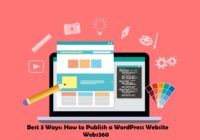 how to publish a wordpress website